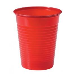 Vaso de Plastico PS Rojo 200ml Ø7cm (50 Uds)