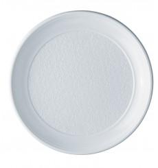 Plato de Plastico Llano Blanco PS 250 mm (100 Uds)