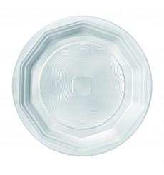 Plato de Plastico Hondo Blanco PS 220 mm (1600 Uds)
