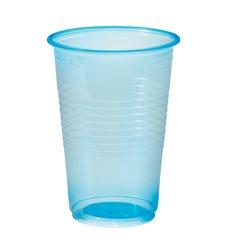 Vaso de Plastico Azul Transp. PP 230ml (100 Uds)