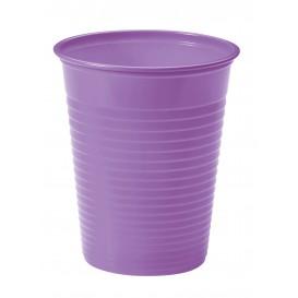 Vaso de Plastico PS Lila 200ml Ø7cm (50 Uds)