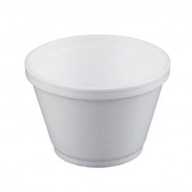 Tarrina Termico Foam Blanco 6OZ/180ml Ø89mm (50 Uds)