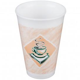 "Vaso Termico Foam EPS ""Café"" 16Oz/480ml Ø9,4cm (25 Uds)"
