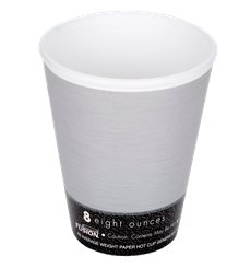 "Vaso Termico Foam ""Fusion"" Gris 8Oz/266ml Ø81mm (25 Unidades)"