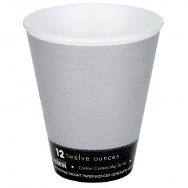 "Vaso Termico Fusion ""Steele"" 12Oz/355ml Ø9,4cm (25 Uds)"
