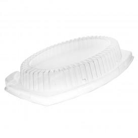 Tapa de Plastico Transparente para Bandeja 230x180mm (125 Uds)