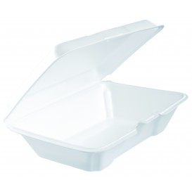Envase Foam LunchBox Blanco 230x150mm (100 Uds)