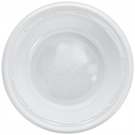Bol de Plástico PS Blanco 120ml Ø11,5cm (125 Uds)