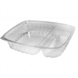 """Envase de Plastico PS """"Clear Pac"""" Transparente 887ml (63 Uds)"""