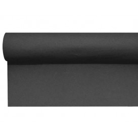 Mantel Camino Airlaid Negro 0,4x48m Precorte (1 Ud)