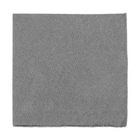Servilleta de Papel Micropunto 20x20cm 2C Gris (100 Uds)