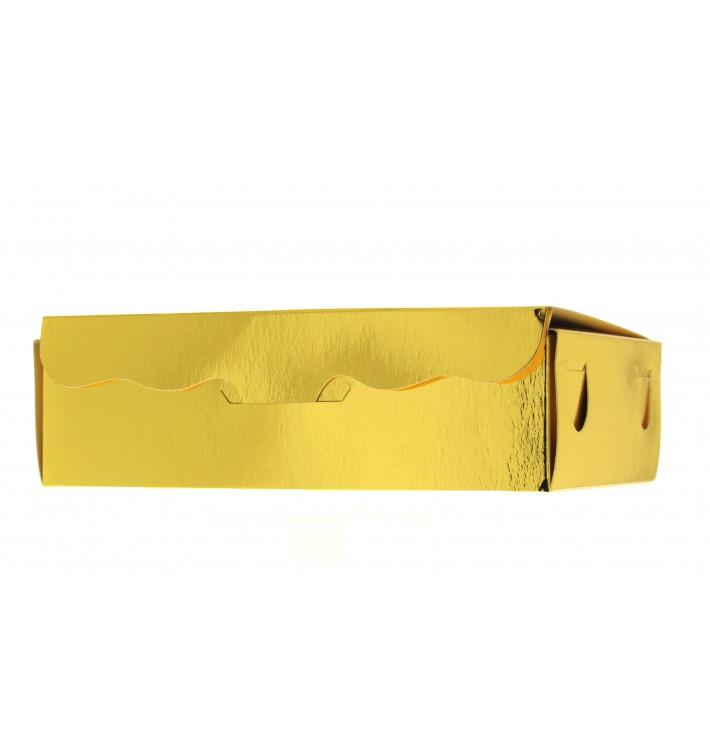Caja para Dulces y Bombones Oro 14x8x3,5cm 250g (50 Uds)