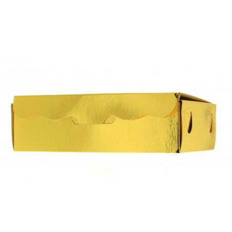 Caja para Dulces y Bombones Oro 20x13x5,5cm 1000g (50 Uds)