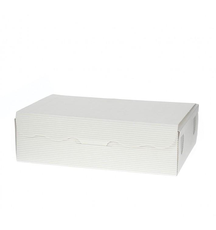 Caja para Dulces y Bombones Blanca 14x8x3,5cm 250g (100 Uds)