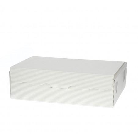 Caja para Dulces y Bombones Blanca 14x8x3,5cm 250g (50 Uds)