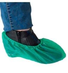 Cubrezapatos en Polietileno G80 Verde (2000 Uds)