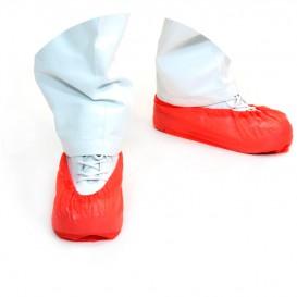 Cubrezapatos en Polipropileno Rojo (100 Uds)
