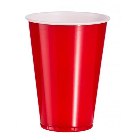 Vaso Rojo Americano para Fiestas 10 Oz/300ml (50 Uds)