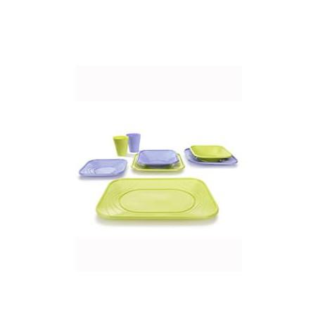 "Vaso de Plastico PP ""X-Table"" Lima 320ml (128 Uds)"