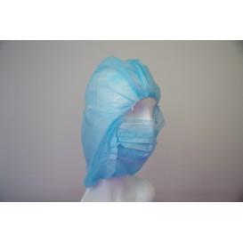 Gorro Integral en Polipropileno Azul (50 Uds)