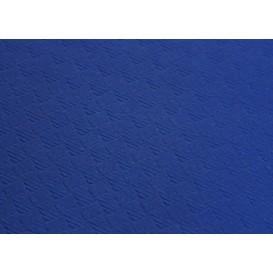 Mantel de Papel Cortado 1x1 Metro Azul 40g (400 Uds)