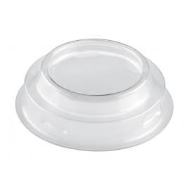 Tapa Vaso Maxi Conical Transp. PET 120ml (25 Uds)