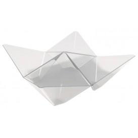 Bol Degustación Origami PS Transparente 103x103mm (25 Uds)