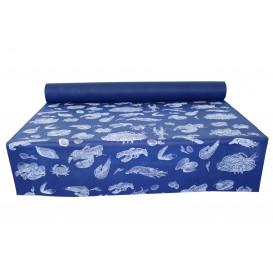 "Mantel Rollo Novotex Azul ""Marisco"" 1,2x50m P40cm (1 Ud)"