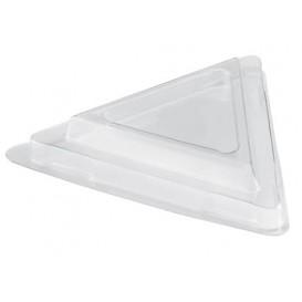 Tapa Bol Triangle Dessert Transparente PET 70 ml (25 Uds)
