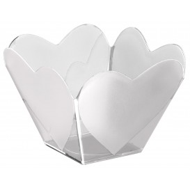 "Bol de Plástico ""Cupido"" Transparente 68 ml (25 Uds)"