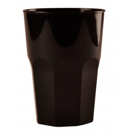 Vaso Plastico para Cocktail Negro PP Ø84mm 350ml (20 Uds)