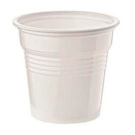 Vaso de Plastico PS Blanco 80ml Ø5,7cm (100 Uds)