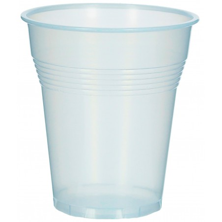 Vaso de Plastico PS Vending Transparente 160 ml (100 Uds)
