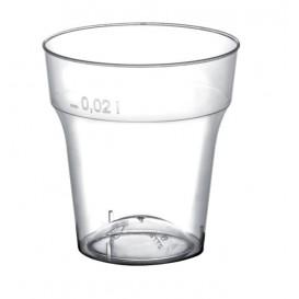 Vaso de Plastico Moon Chupito Transp. PS 20 ml (50 Uds)