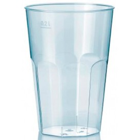 "Vaso ""Deco"" PS Transparente Cristal 200 ml (25 Unidades)"