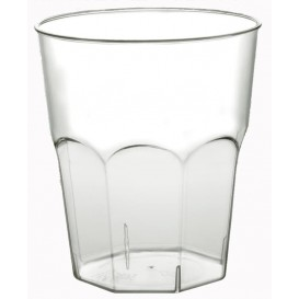Vaso Plastico Cocktail Transp. PS Ø84mm 270ml (20 Uds)