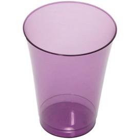Vaso Inyectado Berenjena 230 ml (10 Uds)