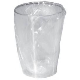 Vaso de Plastico Moon Enfundado Transp. PS 230ml (50 Uds)