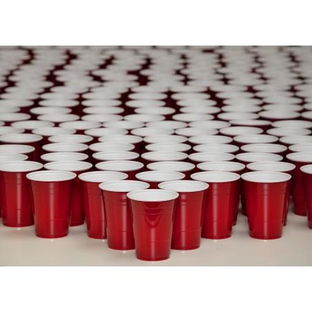 Vaso Rojo Americano para Fiestas 360ml (50 Uds)