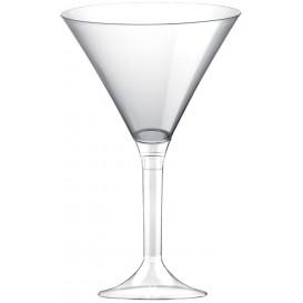 Copa Plastico Cocktail Pie Transparente 185ml 2P (200 Uds)