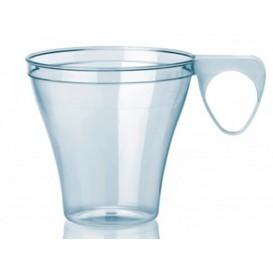 Taza de Plastico Transparente 80ml (40 Unidades)