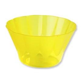 Copa Royal para Coctail Amarilla de Plastico 500ml (25 Uds)