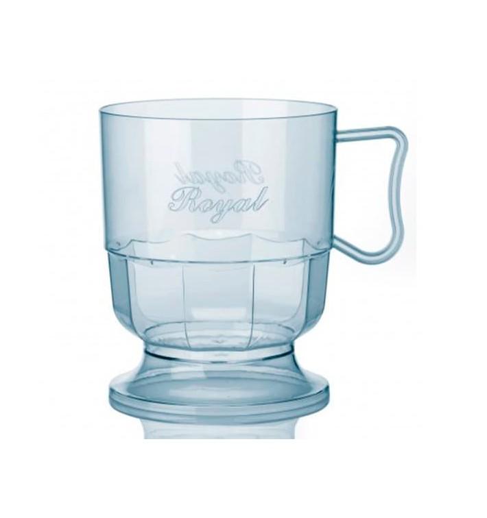 Taza de Plastico Rígida Transparente 200 ml (12 Uds)