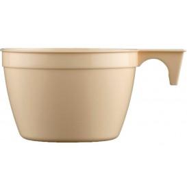 Taza de Plastico PP Cup Beige 90ml (50 Uds)