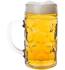 Jarra Reutilizable SAN para Cerveza Ø105mm 1000ml (1 Ud)