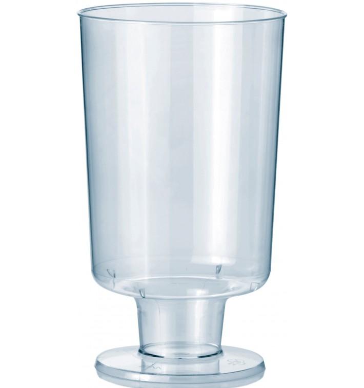 Copa con Pie de Plastico 150 ml (12 Uds)