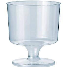 Copa con Pie de Plastico 170ml 1P (10 Uds)