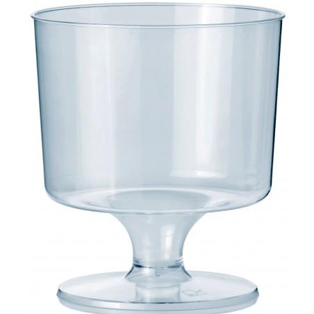 Copa con Pie de Plastico 170 ml (10 Uds)