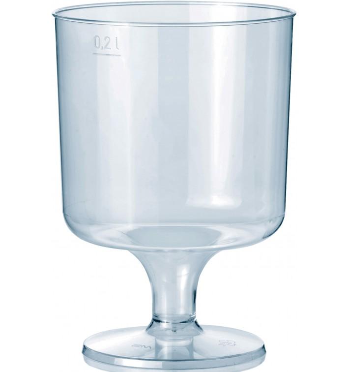 Copa con Pie de Plastico 200ml 1P (10 Uds)