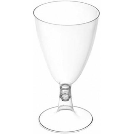 Copa de Plastico PS Cristal 200ml (25 Uds)